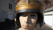 US Navy H-4 Flight Helmet Size Med MFG Gentex First Generation Hard Helmet