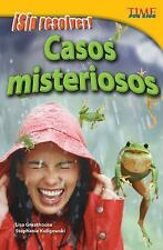 Nonfiction Readers: ¡Sin Resolver! Casos Misteriosos by Lisa Greathouse...
