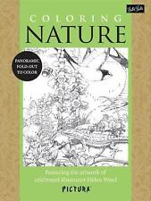 Coloring Nature: Featuring the artwork of celebrated illustrator Helen Ward (Pic