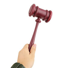 Judges Gavel Auction Hammer Mallet Costume Fancy Dress Props Accessory 26cm