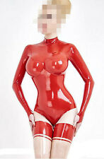 Latex Catsuit Women Sexy Rubber Swimsuit 3D Breast Women Sexy Latx Swimsuit