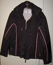 WOMENS ALPINE DESIGN WINTER SKI SNOWBOARD JACKET WITH LINER SIZE L