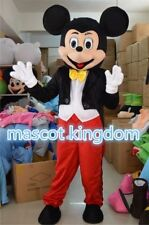 New Mickey Mouse Mascot Costume Fancy Dress Cosplay Party Dress EPE Adult Size