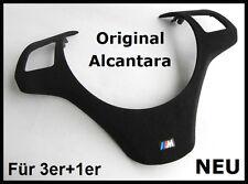 BMW M Performance ALCANTARA VOLANTE Fermaglio e90 e91 e92 e93 m3 VOLANTE MASCHERINA NUOVO