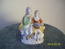 Courting Couple Vintage Porcelain Figurine Hand Painted Marked Occupied Japan