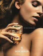 Publicité Advertising 2008 mon parfum pour seul bijou B boucheron