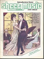 Sheet Music Magazine - Easy Organ - Introductory Issue