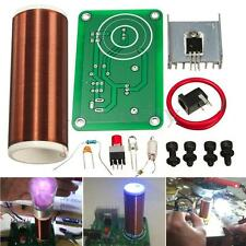 Mini Tesla Coil Wireless Transmission Power Teaching Lighting Electric DIY Kit