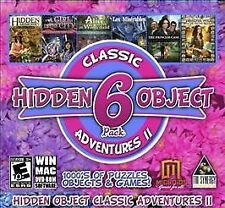 Hidden Object Classic Adventures II - 6 Game Pack  Brand New Sealed!!!! PC!