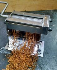 HD Tobacco Shredder Stainless Steel cutters 0.8mm wide cut perfect for injectors