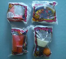 Taco Bell 1997  Nacho & Dog Basketball  - Set of 4 MIP