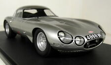 CULT 1/18 SCALA cml009-1 Jaguar E-type Low Drag ARGENTO RESINA CAST modello auto