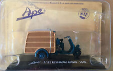"DIE CAST  "" A 125 CALESSINO CHIUSO - 1948 "" APE COLLECTION SCALA 1/32"