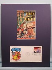 Terry and the Pirates movie serial based on the comic strip & First Day Cover