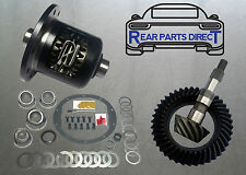NEW GM 8.6 10 BOLT Ring & Pinion, Posi Unit, Bearing Kit - 4.56 Ratio 30 Spline