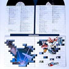 PINK FLOYD THE WALL VINYL LP GATEFOLD COVER ORIGINAL INNER SLEEVES N.MINT