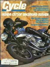 1980 Cycle Magazine: Honda CB750F/Suzuki GS1100EX/BMW R80G S Single Shock Boxer