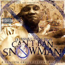 "Young Jeezy & D.J. Drama - You Can""t Ban The Snowman - New Factory Sealed CD"