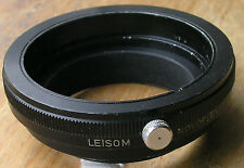 Leisom lens adapter Novoflex  macro 39mm to 42mm clamp on step up
