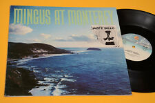 CHARLIE MINGUS 2LP AT MONTEREY TOP JAZZ ITALY 1980 EX GATEFOLD COVER