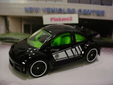 2016 NIGHT BURNERZ Design Ex VOLKSWAGEN NEW BEETLE CUP☆Black VW☆LOOSE Hot Wheels