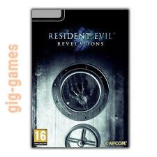 Resident Evil Revelations PC spiel Steam Download Link DE/EU/USA Key Code