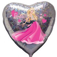 """Amscan 18"""" Barbie Amore Cuori Palloncino Rivestito Ragazze Celebrazione"""