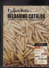 Gander Mountain Reloading Catalog Ammo Firearms Accessories Spring 1989