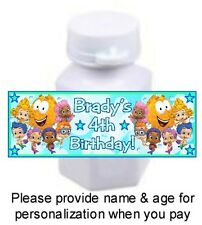 30 Bubble Guppies Birthday Party Or Baby Shower Mini Bubble Stickers Labels