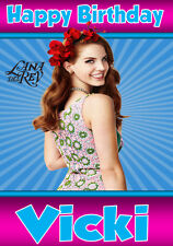 LANA DEL REY Personalised Birthday Card! ANY NAME/AGE/RELATION GREAT CARD