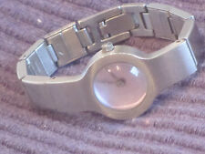 STORM ladies womans watch wristwatch stainless purple bubble working new battery