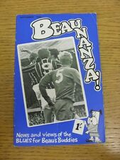 Sep-1968 Birmingham City: Beaunanza - News & Views Of The Blues For Beaus Buddie