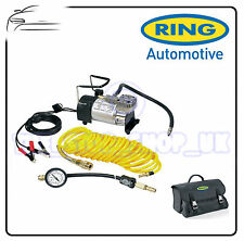 Ring PRO Heavy Duty Air Compressor 100psi Max Inflator Kit & Deflator RAC900