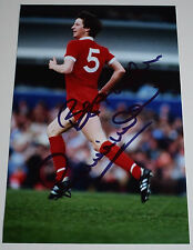 Ronnie Whelan SIGNED 12x8 Photo Autograph Liverpool Football Sport AFTAL & COA