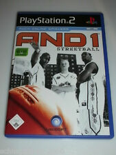 And 1 streetball complet avec notice playstation 2 ps2 pour 1 ou 2 joueurs