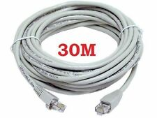30M METERS ETHERNET CABLE RJ45 NETWORK FAST SPEED LEAD INTERNET XBOX PS3 4 CAT5