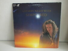 LASERDISC SIMPLY RED A starry night with 4509 90904 6 ZN
