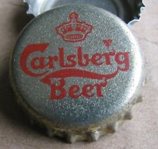 CARLSBERG BEER DEMARK NO DENTS BEER BOTTLE CAP