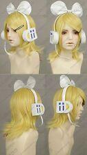 Cosplay Wig Kagamine Rin / Len Vocalold Short Blonde Wig