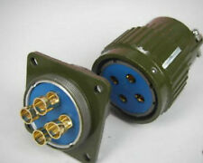 2, Military 4-Pin Male Female Cable Power Connector,C4P