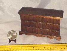1:12 WOODEN VINTAGE CHEST OF DRAWERS NO MOVING PARTS