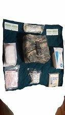 10 pc Set US Army Military ACU Molle II IFAK Individual First Aid Kit Gear Pouch