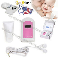 HOT Fetal doppler,baby heart monitor, baby sound&BabySound B+GEL,FDA US Seller