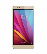 "Honor 5X 5.5"" 1080p FullHD OctaCore 4G LTE 16GB GSM Unlocked Smartphone GOLD NEW"