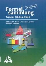 Formelsammlung bis zum Abitur von Lutz Engelmann, Frank-Michael Becker und Hube…