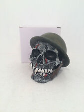 General Corpse Skull Figurine Ornament Money Box Gothic Scary BRAND NEW BOXED