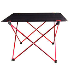 Lightweight Aluminum Alloy Outdoor Portable Folding Table Furniture Camping Desk