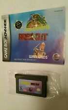 Centipede / Break Out / Warlords for the Nintendo GameBoy Advance