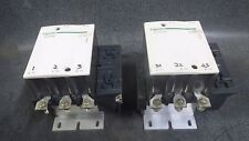 (1) SCHNEIDER CONTACTOR 175 AMP 600 VAC 3 PHASE 110-115V COIL MODEL: LC1F115