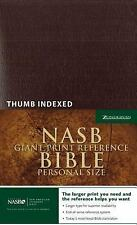 NASB Personal Size Reference Bible by New American Standard Staff and...